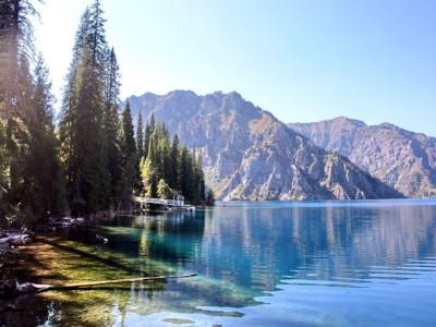 אגם בקירגיזסטן