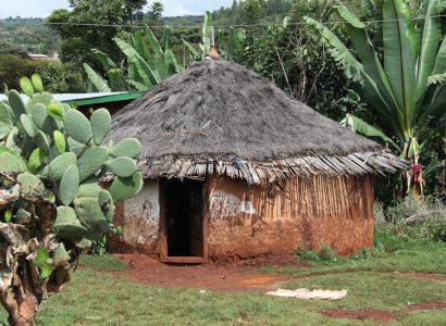 בית אתיופי מסורתי
