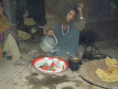 טקס הקפה בגיץ' - אתיופיה