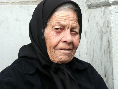 אישה מבוגרת גרוזינית