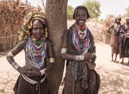 נשים בעמק האומו באתיופיה