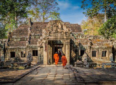 מקדשים העתיקה אנגקור שבקמבודיה