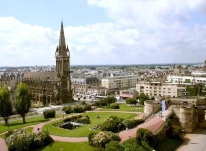 מרכז עיר קן בצרפת
