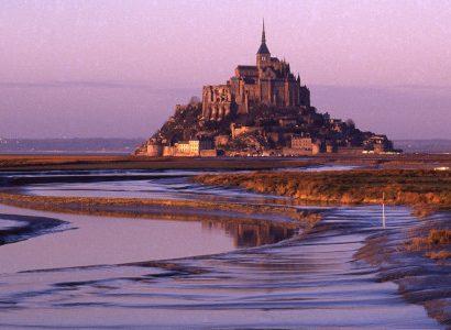 מון סן מישל - ליד לחופי נורמנדי וברטאן בצרפת