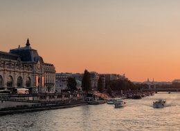 שייט בנהר הסיין בצרפת