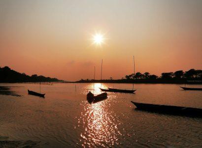 שקיעה בהודו