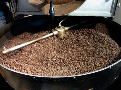 קליית פולי קפה בקוסטה ריקה
