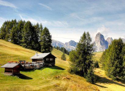 בקתות בצפון איטליה