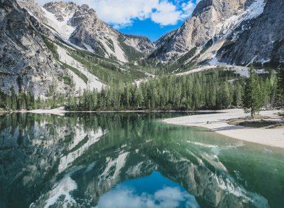 אגם פרגסר בהרי הדולמיטיים