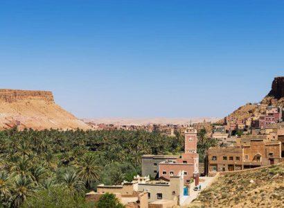 כפר בהרי האטלס מרוקו